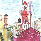 Helwick Tug Boat Swansea by CreativMichelle