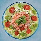 Fresh Salmon Salad by Ari Salmela