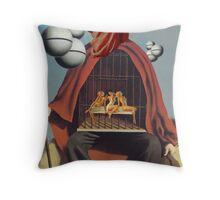 Elephantiasis Throw Pillow
