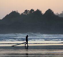 Surf Sunset  by Caroline Mackay
