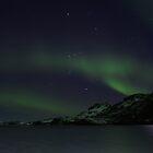 green blue sky by JorunnSjofn Gudlaugsdottir