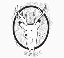Deer T-shirt by america01