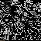 "Tango sentimentale "" Mi noche triste"" , Milonga a Roma Anno Domini 2013 . Happening. by Andrzej Goszcz . Author:  Andrzej Goszcz , nickname "" Brown Sugar"" . by © Andrzej Goszcz,M.D. Ph.D"