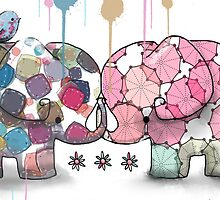 elephant confection by Karin  Taylor