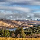 Misty Morvern Mountains Morning by derekbeattie