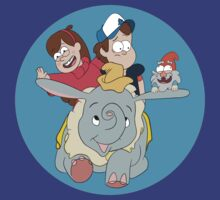 Gravity Falls on Dumbo by pimator24