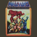 He-Man Masters of the Universe Battle Scene by jackandcharlie