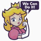Peach - We can do it! by cronobreaker