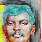 jeffrey dahmer portrait. by resonanteye