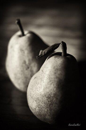 Pear Study VI by Karen E Camilleri