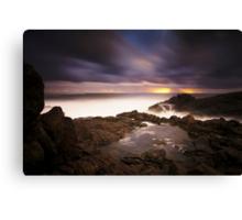 Hastings Point Sunrise Canvas Print