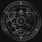 Human transmutation circle - chalk by R-evolution GFX