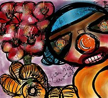 I Got These Flowers For You - Beatrice Ajayi - Bo-Bot by Beatrice  Ajayi