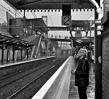 Man on Platform 2... by David Nendel by Shot in the Heart of Melbourne, 2013