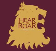Lannister - Hear me roar by wickedarian