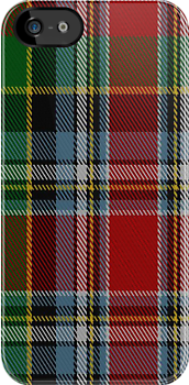 00946 Wilson's No. 156 Fashion Tartan Fabric Print Iphone Case by Detnecs2013