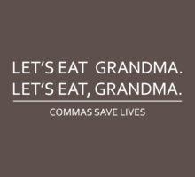 Commas save lives Kids Clothes