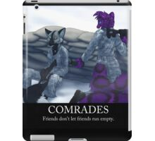 Comrades iPad Case/Skin