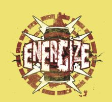 Energized - Power-Shirt-Design by shirtchef