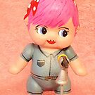 Kewpie in pink by Anna Budden