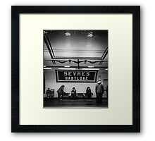 Paris Signature Series Metro 12/15 Framed Print