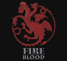 Fire and Blood by DementedRabbit