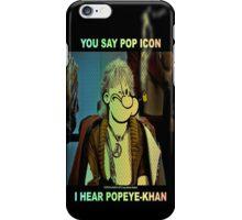 POP ICON / POPEYE-KHAN 025 iPhone Case/Skin