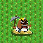 Mr. Resetti - Animal Crossing by tanzelt
