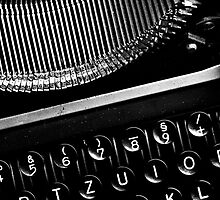 Typewriter 3 by Falko Follert