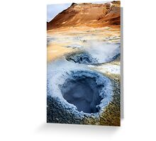 Boiling Earth Greeting Card