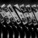Typewriter keys 2 by Falko Follert