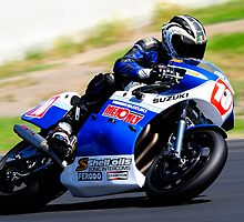 Damien Kavney | Barry Sheene Festival | 2013 by Bill Fonseca