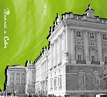 Palacio Real a Color by RudolphBlackArt