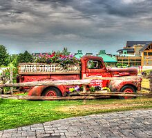 Antique pickup truck at Blue Mountain 2 - HDR by John Velocci