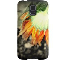 Orange Flower Samsung Galaxy Case/Skin