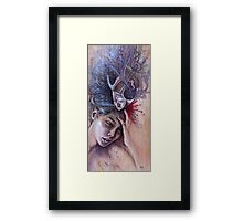 Headache Framed Print
