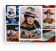 The Duke American Legend Canvas Print