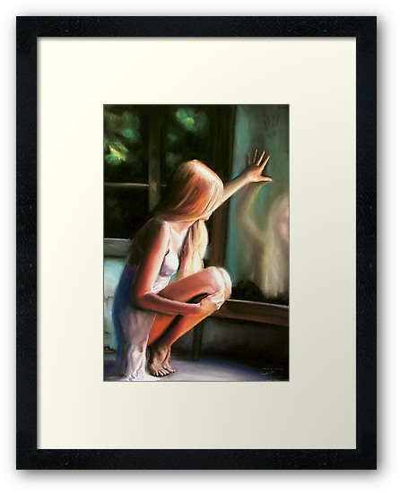 Through a GLass Darkly (pastels) by pauldrobertson