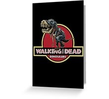 Walking With Dead Dinosaurs Greeting Card