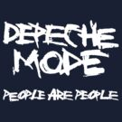 Depeche Mode : People are People - 1 - White by Luc Lambert