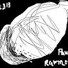 Cat -(220313)- Digital art/mouse drawn/MS Paint by paulramnora
