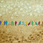 Happy Socializing Birds by QiQiGallery