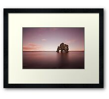 Whisper Of An Ancient Rock Framed Print