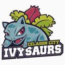 Celadon City Ivysaurs by cronobreaker