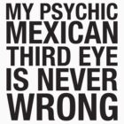 PSYCHIC  MEXICAN  THIRD EYE by maudeline