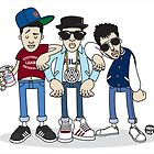 Evolution Of The B-Boy – The Beastie Boys by Mark563