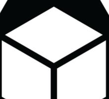 Delta Cube Sticker