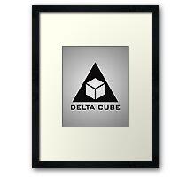 Delta Cube Framed Print