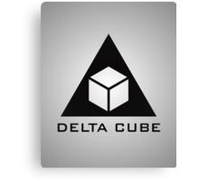 Delta Cube Canvas Print