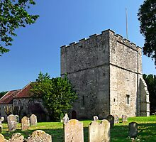 St Michael's Church, Shalfleet by Rod Johnson